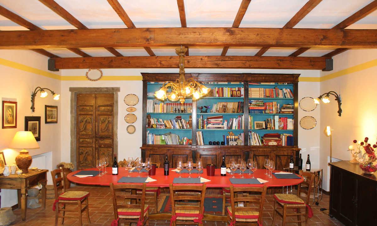 Podere Fedespina: spazio degustazioni